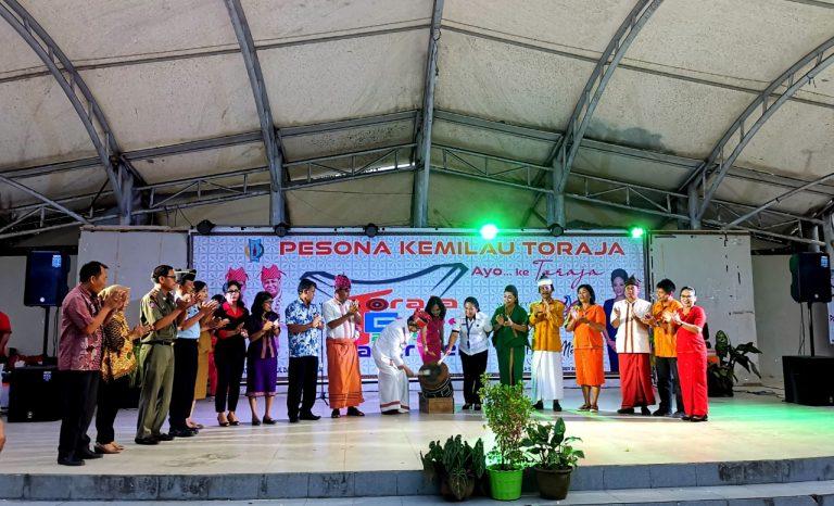 Pembukaan kegiatan Event Pesona Kemilau Toraja 2019