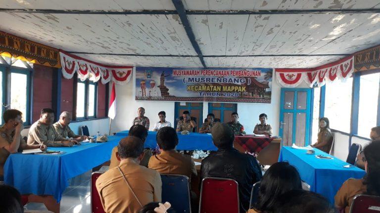Prioritas Pembangunan Infrastruktur dalam Musrenbang Kecamatan Mappak