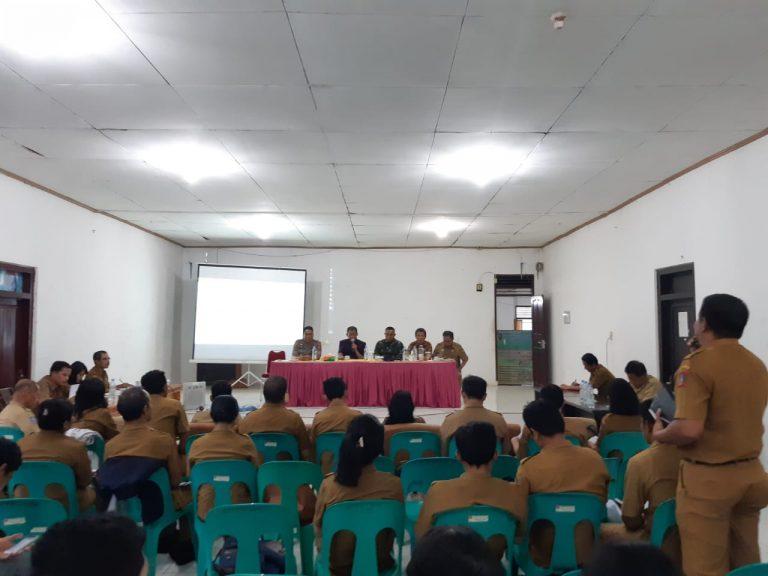 Rapat Koordinasi Bidang Program Toraya Maelo Sektor Jangan Biarkan Rakyatku Lapar di Kantor Dinas Pertanian