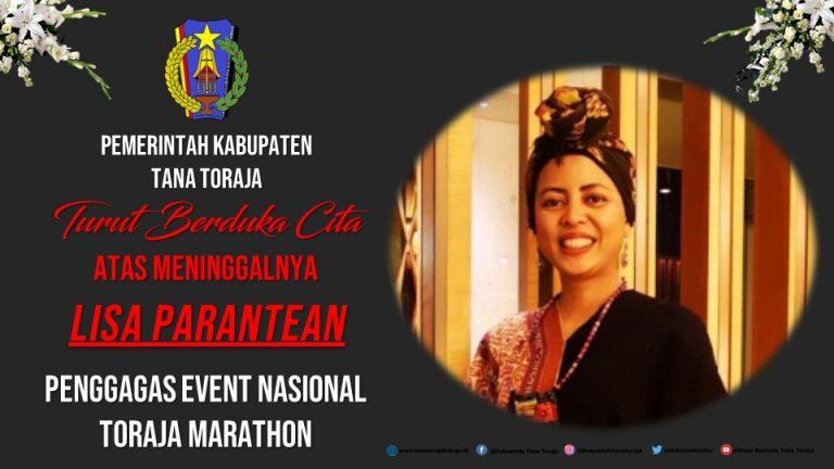 Penggagas Event Intenasional Toraja Marathon tutup usia, Pemda Tana Toraja turut berduka