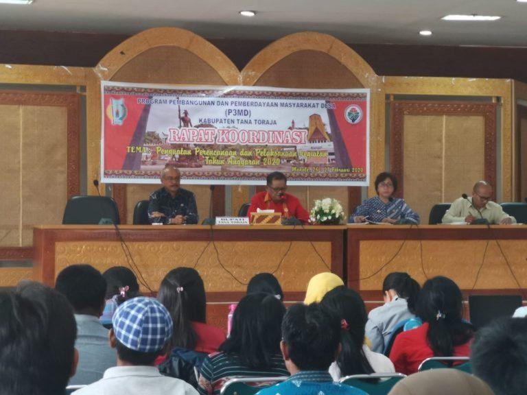 Bupati minta Pendamping Desa memperhatikan Hak-Hak Disabilitas dan Tomasiasi