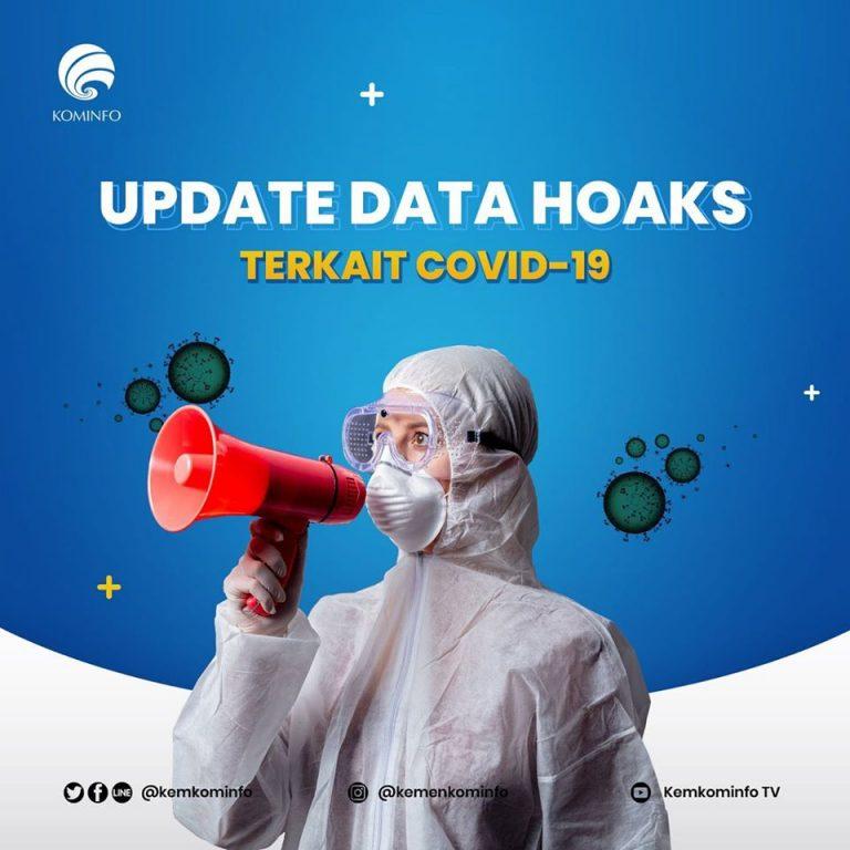 562 Hoaks Terkait Virus Corona Capai 1.231 Sebaran