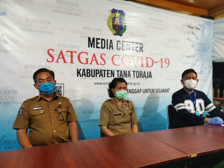 Media Centre Satgas Covid-19 Tana Toraja Umumkan Kasus Ketiga Positif Covid-19