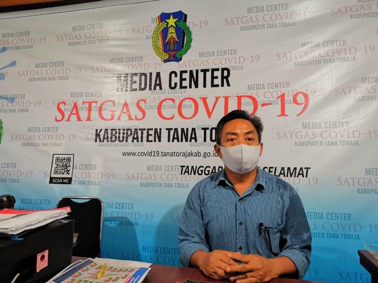 Media Center Satgas Covid-19 Tana Toraja Kembali Umumkan 1 orang Dinyatakan Sembuh Dari Covid-19