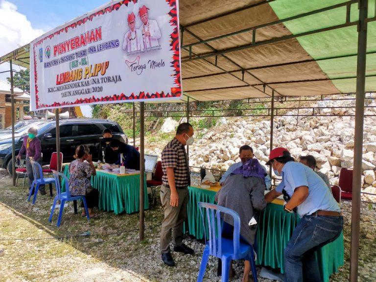Bantuan Langsung Tunai Dana Lembang Mulai Disalurkan di Tana Toraja