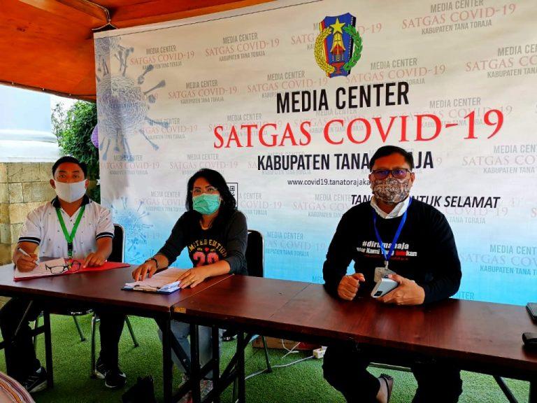 Media Center Satgas Covid-19 Tana Toraja kembali Umumkan Hasil Pemeriksaan 3 Sampel Swab Terbaru