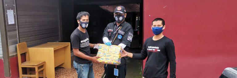 Bertahan di Kampus, 13 Mahasiswa UKI Toraja Dapat Bantuan Sembako dari Pemda Tana Toraja