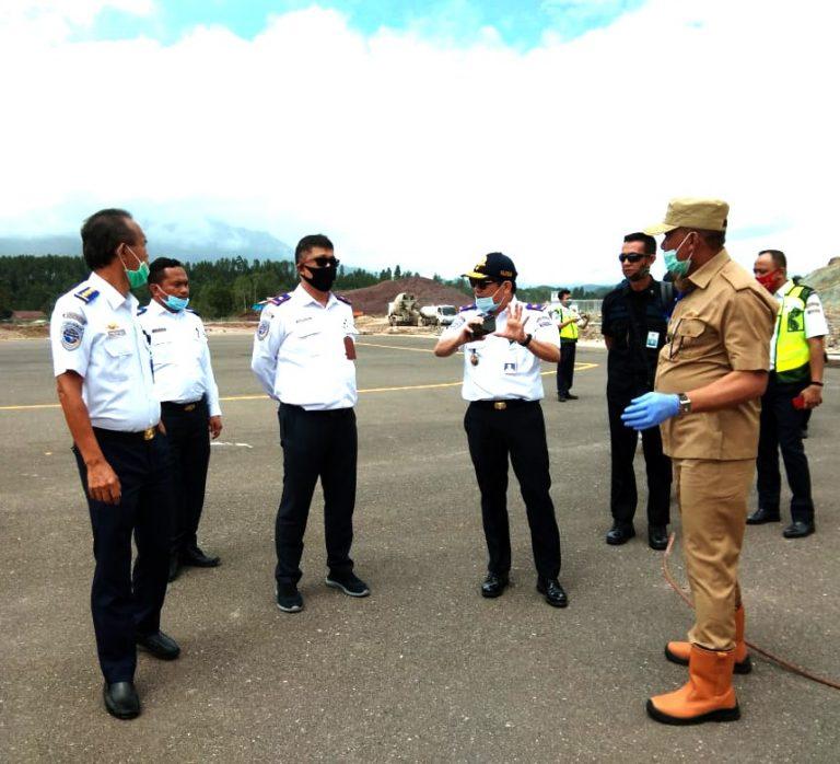 15 Inspektur Penerbangan dari Otoritas Bandara Wilayah V Makassar sidak Bandara Toraja