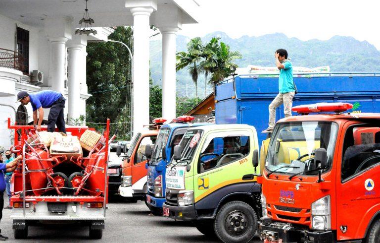 Pemda Tana Toraja Kirim 60 Relawan dan beberapa kendaraan khusus untuk Penanganan Banjir di Luwu Utara