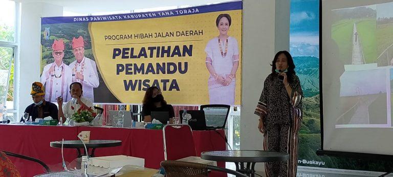 Dinas Parawisata Tana Toraja Gelar Pelatihan Pemandu Wisata