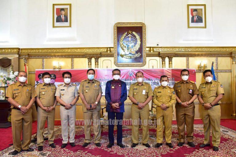 Penunjukan dan pengukuhan 7 Penjabat Sementara Bupati oleh Gubernur Sulsel