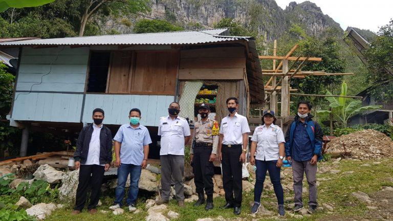 Tingkatkan Keswadayaan, Dinas PRKP Tana Toraja Salurkan Bantuan Program BSRS di 186 Rumah Warga
