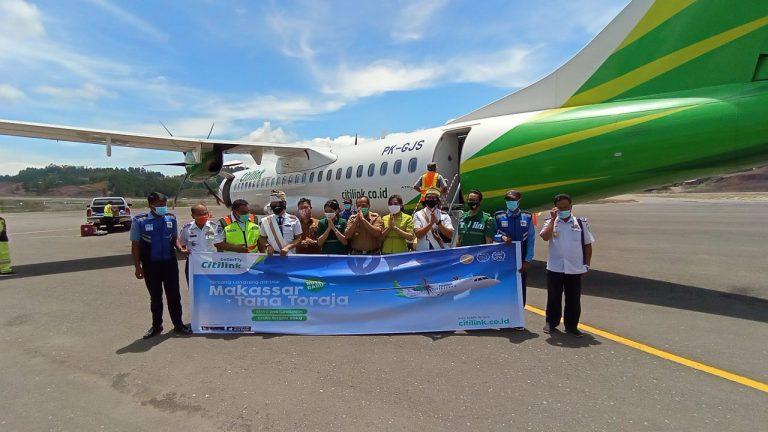Penerbangan Perdana Citilink di Bandara Toraja, Jadwal penerbangan menjadi setiap hari