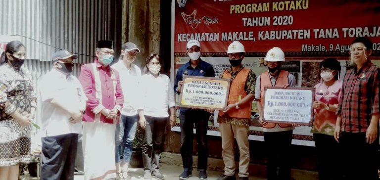 Pelaksanaan Program Kota Tanpa Kumuh (kotaku) Untuk Dua Kecamatan Di Tana Toraja
