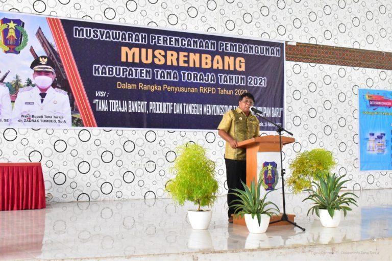 Musrenbang RKPD Kabupaten Tana Toraja Tahun 2021