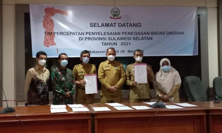 Kesepakatan Batas Daerah Tana Toraja-Pinrang dalam Rakor Penyelesaian Batas Daerah
