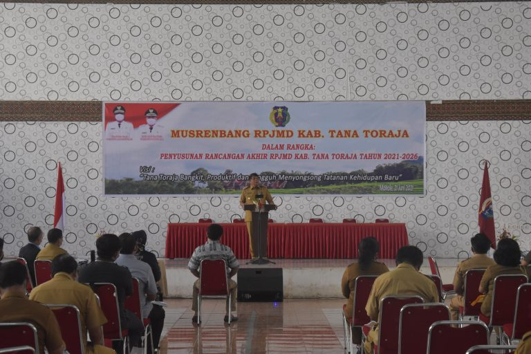 Focus Group Discussion (FGD) Pra Musrenbang Pemerintah Kabupaten Tana Toraja