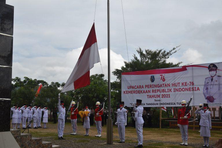Upacara Peringatan HUT Ke-76 Kemerdekaan Republik Indonesia Tahun 2021