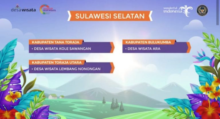 Desa Kelo Sawangan masuk dalam 50 Desa Wisata Terbaik