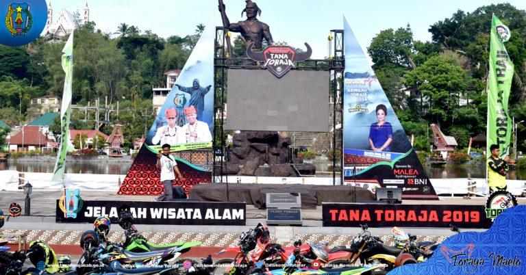 Bupati mengajak para Riders Toraja Trail untuk membangun kebersamaan mengikat persaudaraan sebagai anak bangsa