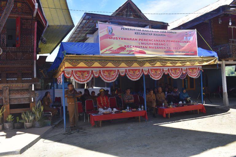 Pembukaan Musrenbang, Kepala Bappeda : OPD harus fokus pada persoalan