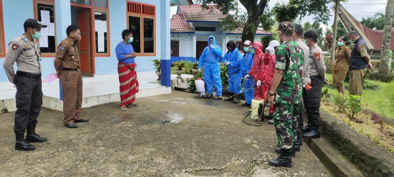 Cegah Virus Corona, Penyemprotan Disinfektan oleh Satgas Tana Toraja diperluas ke Wilayah Kecamatan