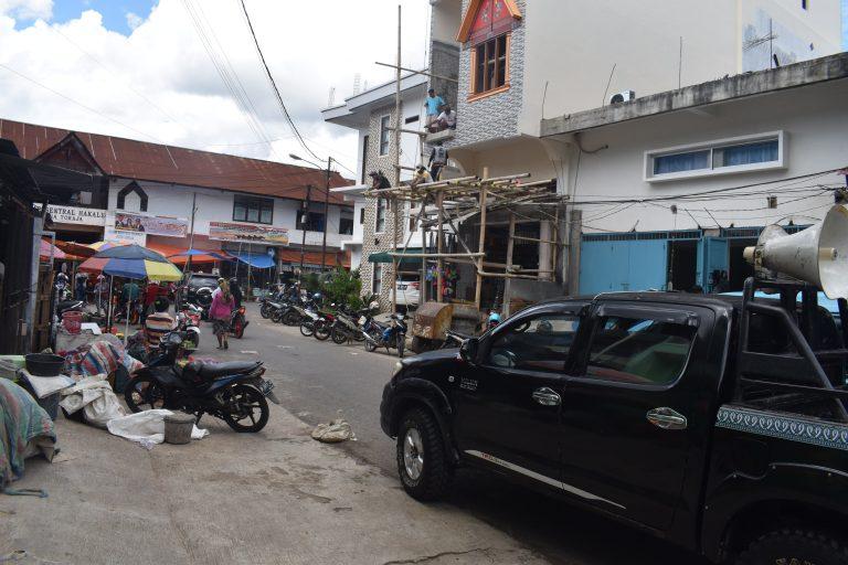 Dinas Kominfo melaksanakan Pengumuman Keliling Penanganan Covid-19 dan Sosialisasi DBD
