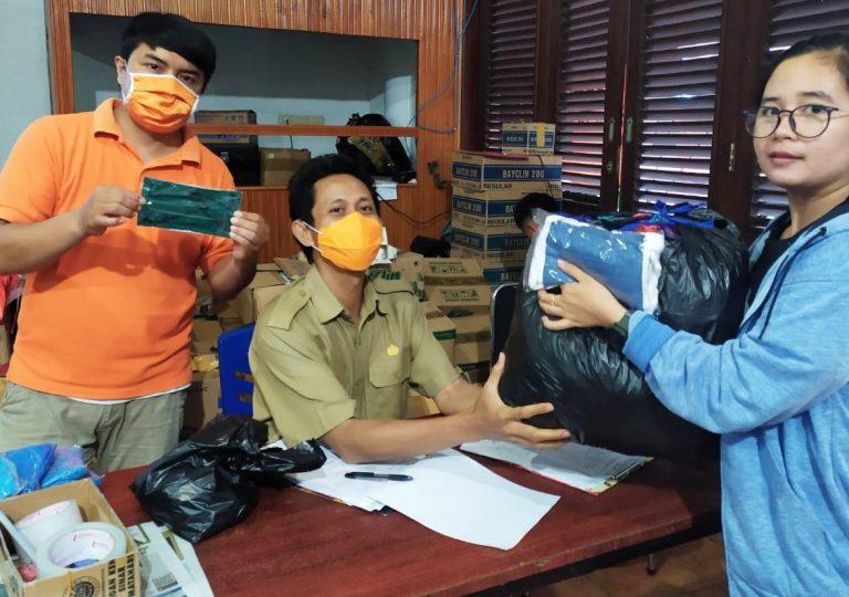 Sinergitas Satgas Covid-19 Tana Toraja dan 20 Penjahit siapkan Masker untuk masyarakat