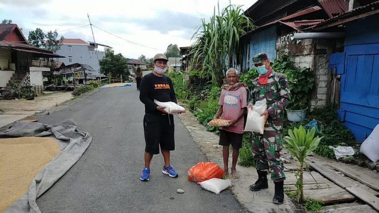 Bantuan Sembako Bagi Warga Kurang Mampu Mulai Didistribusi di Kecamatan Makale dan Bittuang