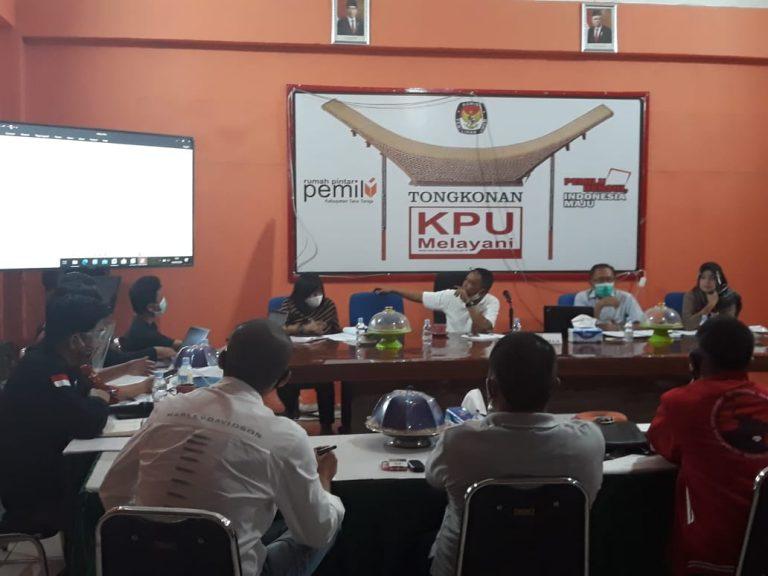 KPU Tana Toraja Ingatkan Paslon Pilkada Tana Toraja Tetap Patuhi Protokol Kesehatan Covid-19