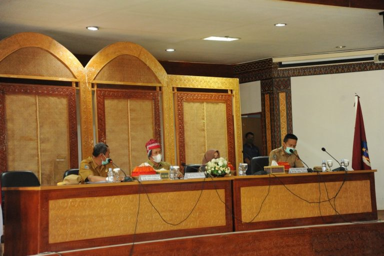 Pjs Bupati Tana Toraja Akan Fokus Penanganan Covid-19, Kawal Pilkada dan Perampungan APBD