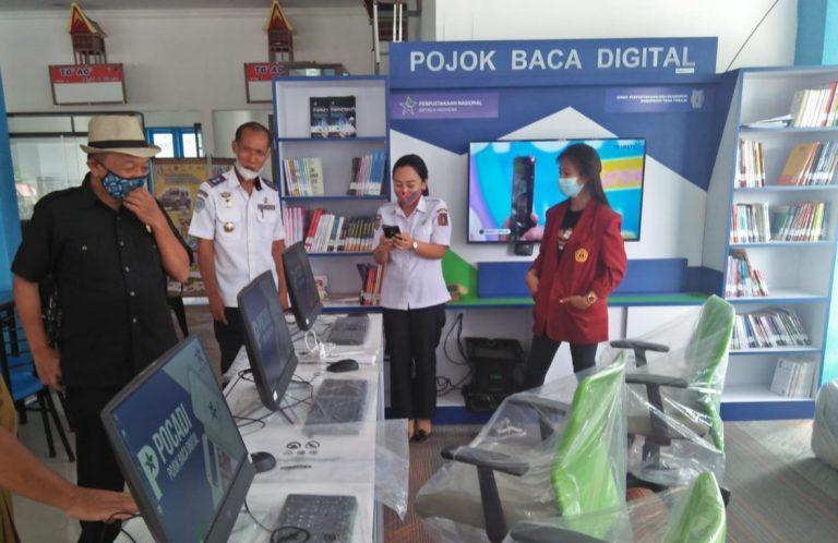 Layanan Pojok Baca Digital Hadir Di Tana Toraja