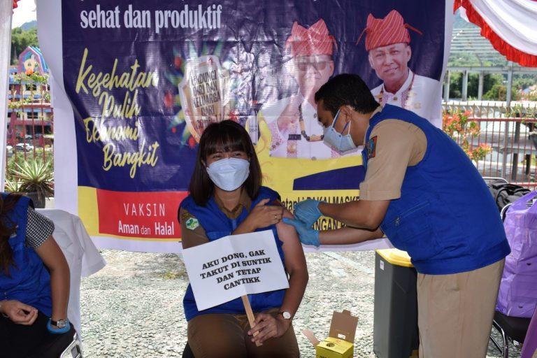 Tana Toraja Menggelar Vaksinasi Covid-19 Pertama