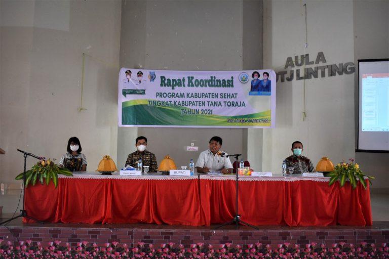 Rapat Koordinasi Program Kabupaten/Kota Sehat (KKS)