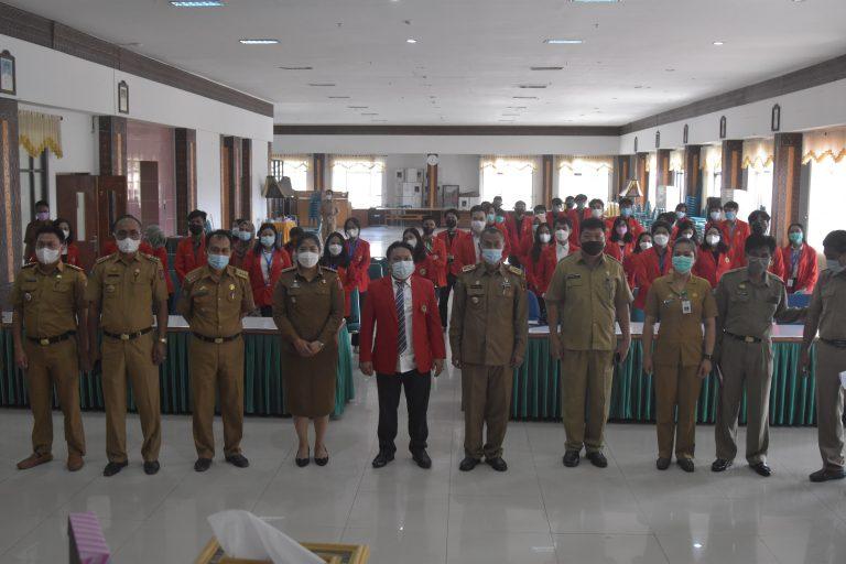 Penerimaan Mahasiswa KKN Tematik Universitas Hasanuddin