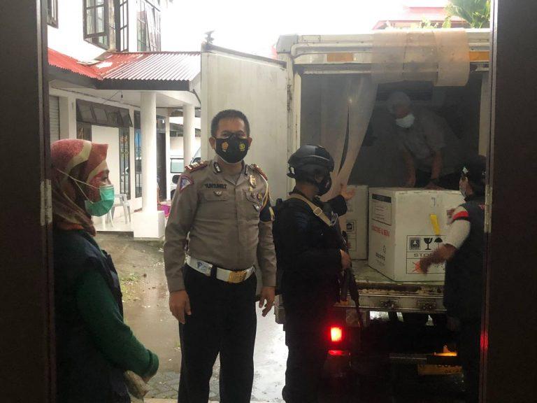 3.400 Dosis Vaksin Tiba di Tana Toraja
