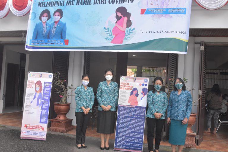 Vaksinasi Ibu Hamil Mulai Dilaksanakan Pemerintah Kabupaten Tana Toraja