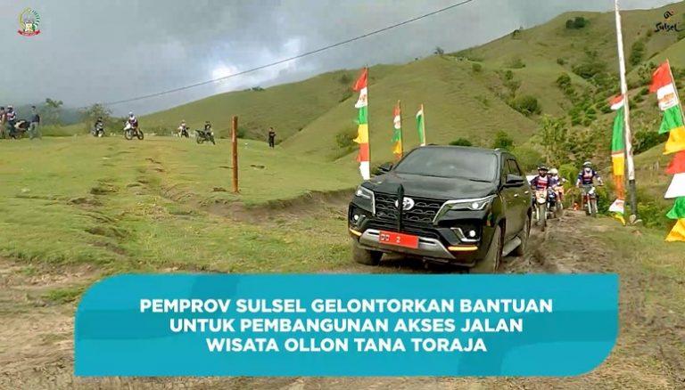 Pemrov Sulsel Beri Bantuan 20 Miliar untuk Pembangunan Objek Wisata Ollon Tana Toraja